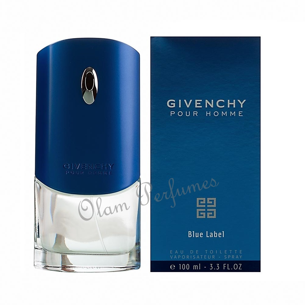 Givenchy Blue Label Pour Homme Eau de Toilette Spray 3.3oz 100ml